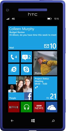 Smartphones Windows Phone 8 já à venda em Portugal